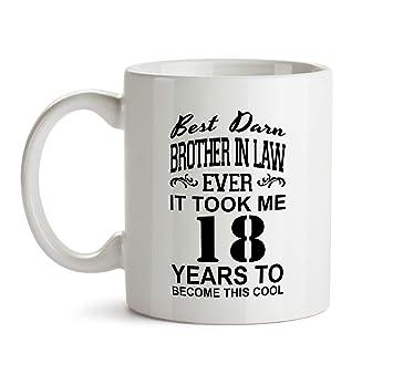 Amazon 18th Brother In Law Birthday Gift Mug