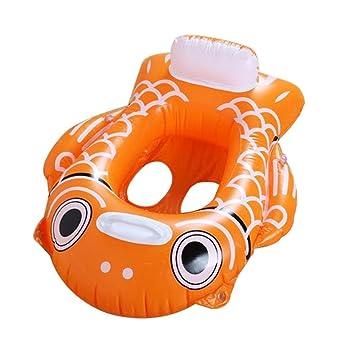 Leegoal(TM) Flotadores para Niños/Bebé con Asiento(>10 Meses)