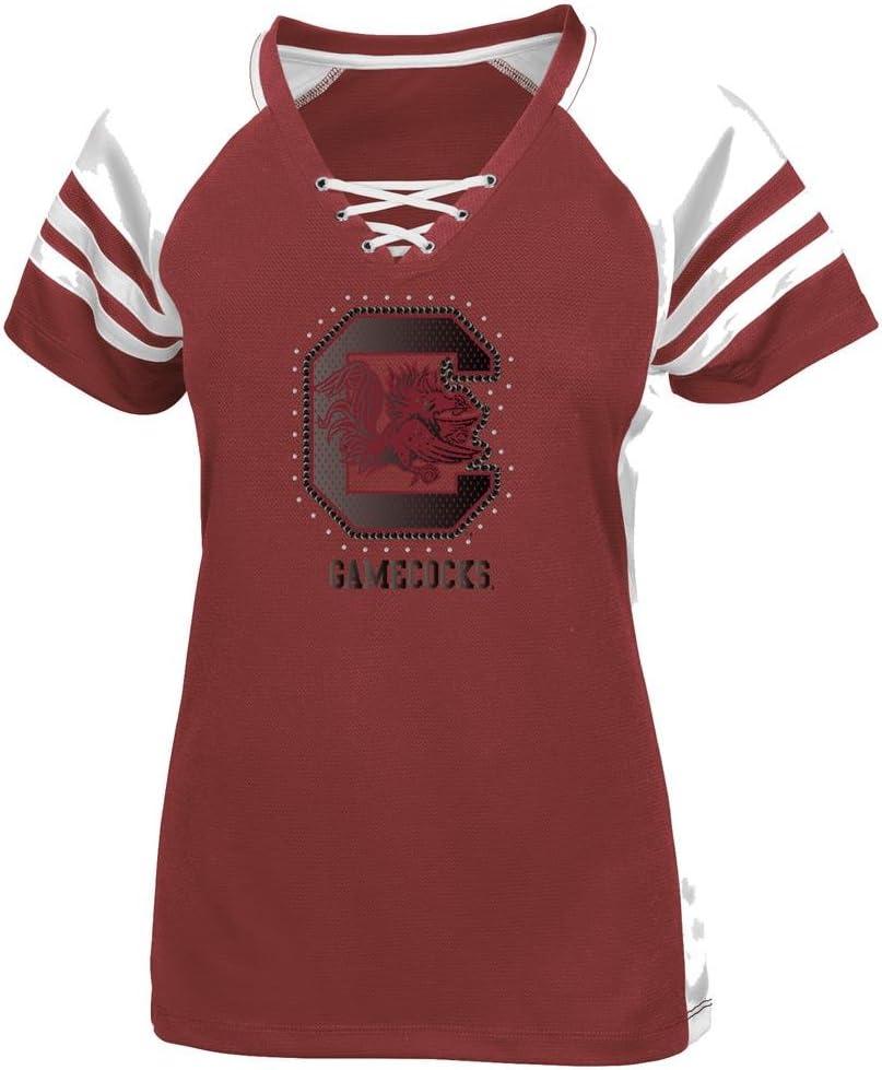 Majestic South Carolina Gamecocks Women\'s Final Quarter Jersey Top Shirt - Red 616-jOlOSTL