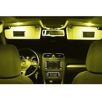Citroen C6 LED Interior Lighting Set Light Bulb SMD 6000 K
