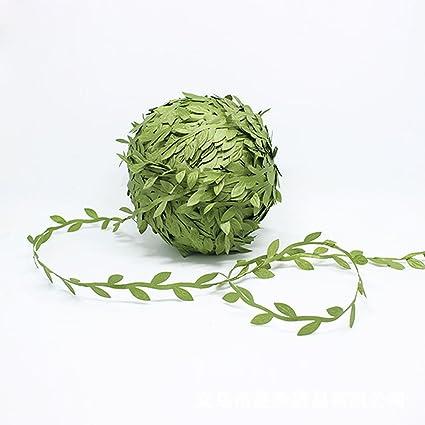 amazon com bbshop 656 ft 200m artificial vines with leaves garlands