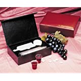Portable Communion Set (Burgundy) - 24 Cups