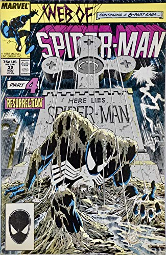 1987 - Marvel Comics - Web Of Spider-Man #32 - Kraven's Last Hung #4 of 6 - Resurrection - Comic Book - 1st Print - Collectible