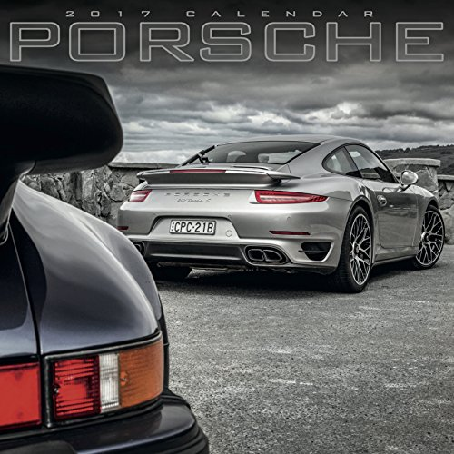 Porsche Calendar - Calendars 2016 - 2017 Calendar - Super Car Calendar - Automobile Calendar - Monthly Wall Calendar