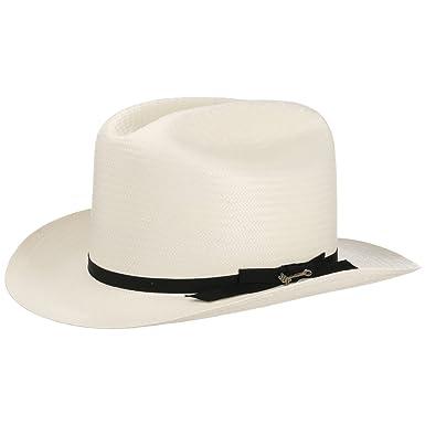 5b076ccf6a9b6 Stetson Open Road 6X Western Straw Hat Men