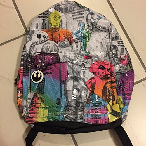 Sequined Star Wars Backpack