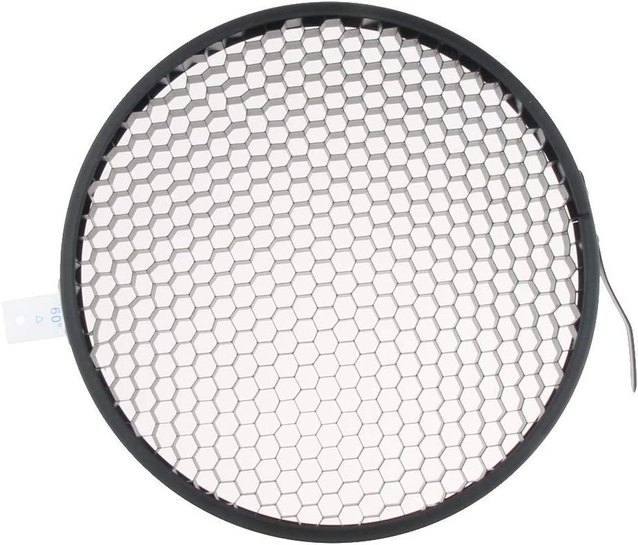 7 Reflector Photography Accessories 60 Degrees Honeycomb Grid for 18cm