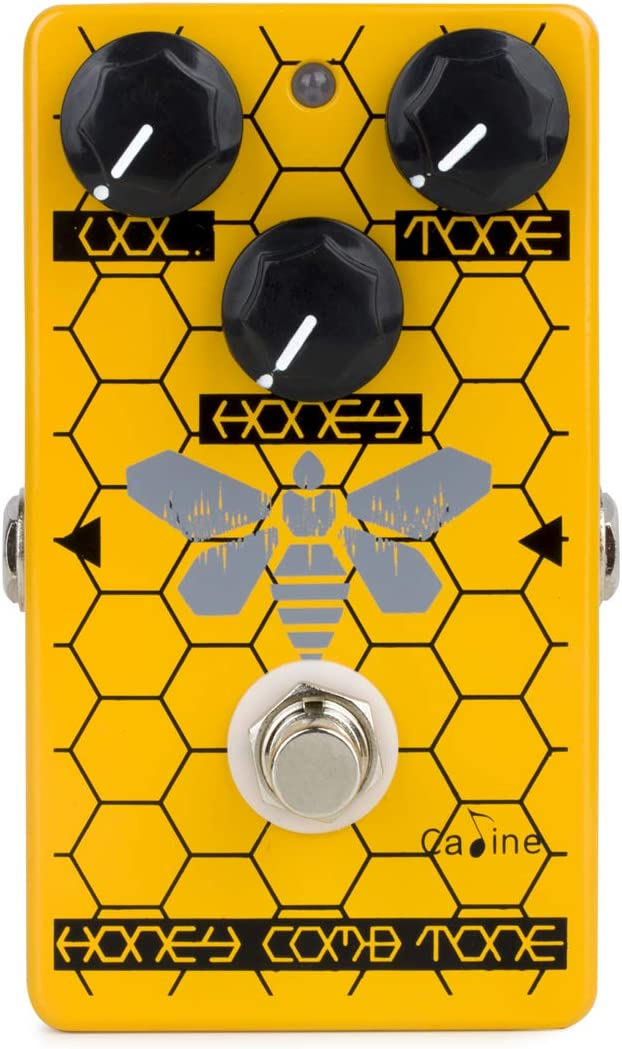 Caline CP-84 The Honeycomb Tone Overdrive pedal de efecto
