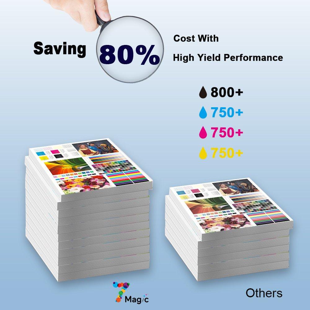 7Magic Cartucho de tinta HP 364XL Compatible con HP Photosmart 5520 5510 7520 7510 6510 6520 Deskjet 3070A de E-All-in-One: Amazon.es: Oficina y papelería