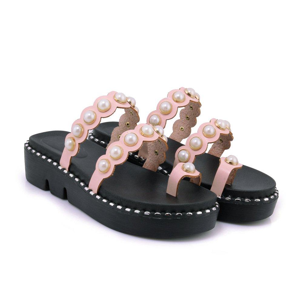 Sandales décontractées pour Femmes, Chaussures Pantoufles à Talons, Pantoufles Sandales pour Rose 17a82c8 - epictionpvp.space