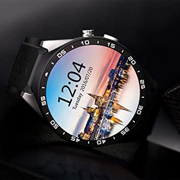 fghdfdhfdgjhh Dispositivo KW88 SmartWatch Podómetro para medir el ...