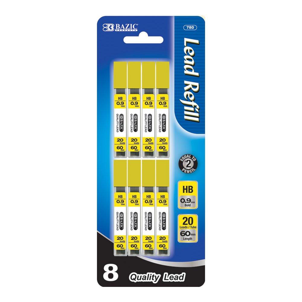 BAZIC 20 Count 0.9mm Mechanical Pencil Lead (780-288)