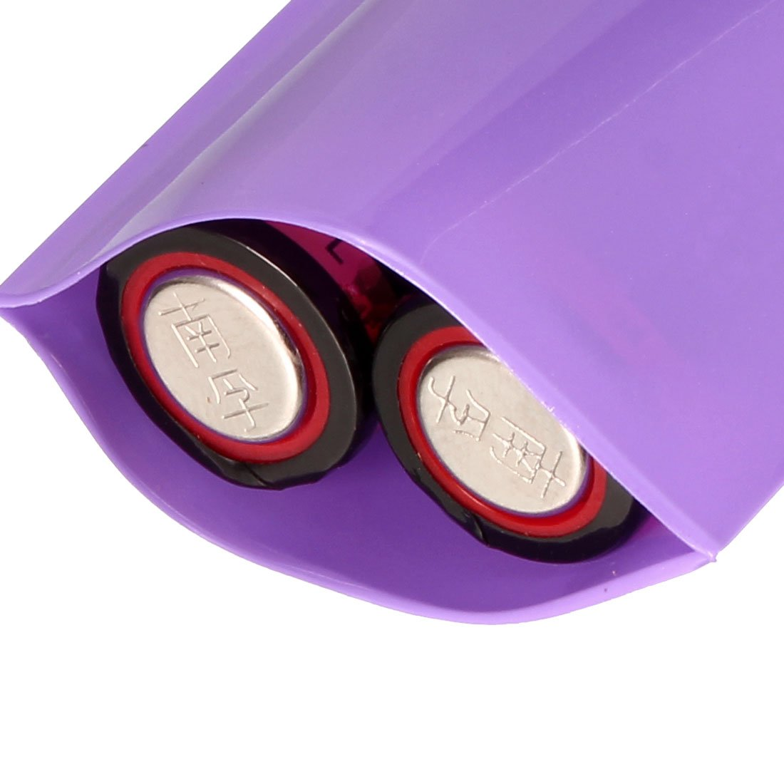 sourcingmap PVC Heat Shrink Tubing Tube 43mm for 26650 Shrink Film 2M Black
