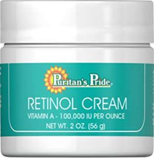 Amazon Com Retinol Cream 0 05g 30g Acne Anti Aging Wrinkle