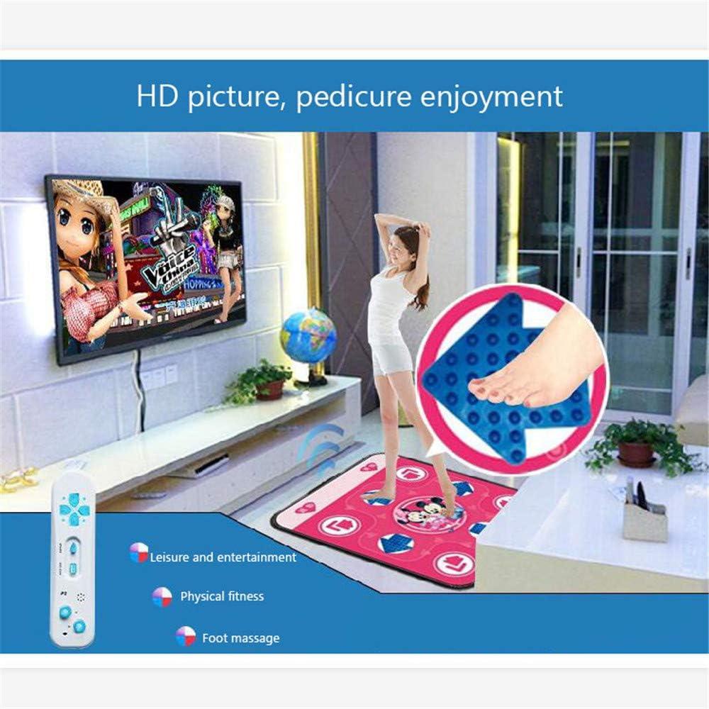 Comfortable Massage Pad Plug and Play Dance Pad Single Massage Dance Blanket,TV Computer Interface Dual-Use Somatosensory Dance Machine GCFBCL Wireless Dance Mat