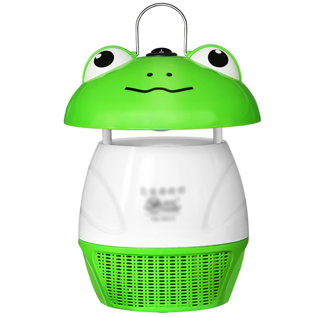 Fly & Mosquito Control Green Frog Mosquito lamp photocatalyst efficient Mosquito lamp Home Quiet Indoor Mosquito Trap Mosquito Mosquito lamp  6  9 inches