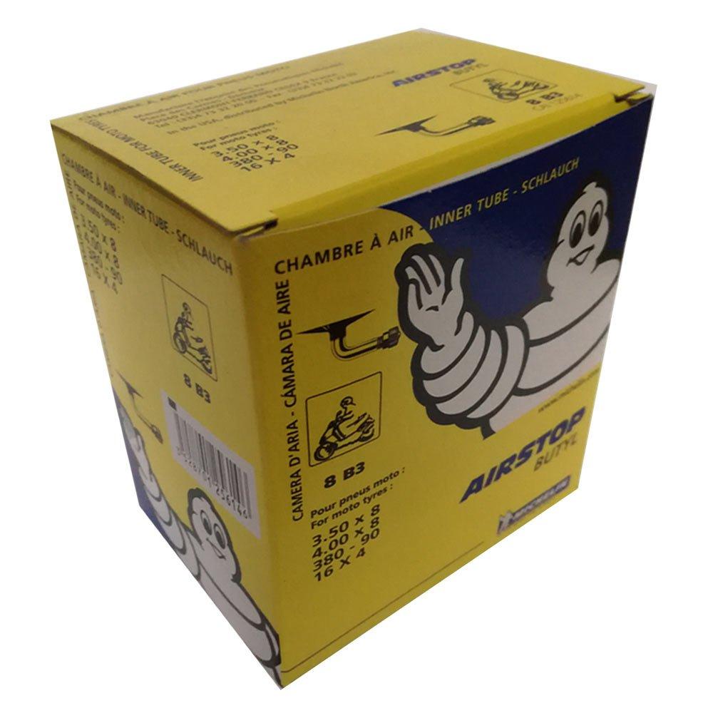 Chambre air moto Michelin 8B3 Valve 1202 (3.50-8 e 4.00-8) Motodak