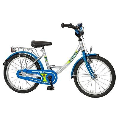 'Bachtenkirch Police Vélo pour enfant 18Argent/Bleu