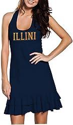 9ed441eda8 chicka-d Junior Cut Women s University of Illinois Dress