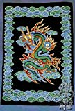 Tapestry ~ Dragon ~ 100% Cotton ~ Approx 54 x 82 Inches