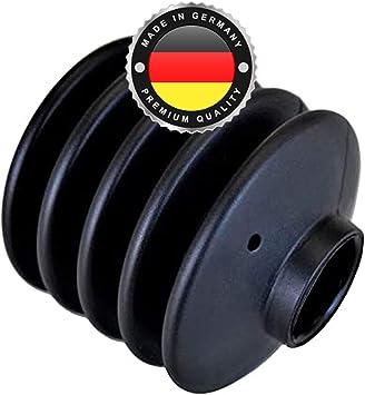 Ws System 2x Universal Faltenbalg Aus Gummi 2 Stk Flexible Dehnbare Achsmanschette Made In Germany Aus Hochwertigem Pvc Schelle In Größe L 70 35 Mm Ø 20mm 30mm Auto
