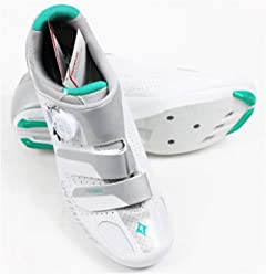 SPECIALIZED Ember Road Womens Shoe White/Emerald Green 42 EU/ 10.5 US