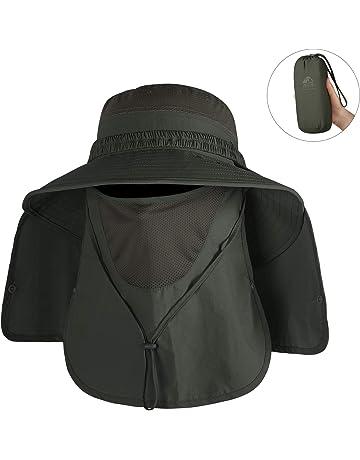 Unigear Sombrero para el Sol Gorro Pescador Anti-UV UPF50+ Gorra Pesca Solar ala Ancha