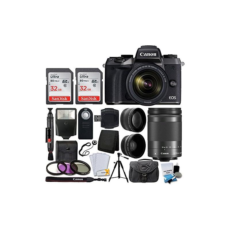 Canon EOS M5 Mirrorless Digital Camera +