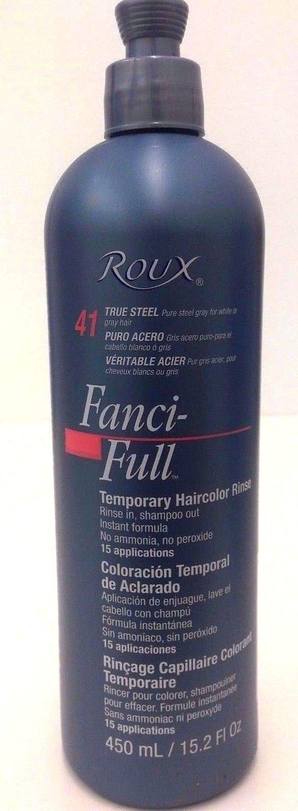 Roux Fanci-Full Rinse #41 True Steel 15.2 oz.
