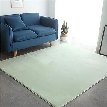 Camal Tapis Rectangulaire En Flanelle Materiel Moquette Decoration Salon Chambre Et Salle De Bains Vert Menthe 80 X 120 Cm