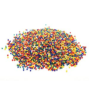 Suriel 100,000 Pcs/Set Water Beads for Spa Refill Magic Growing Jelly Bead Sensory Toys and Decor,Color Mix