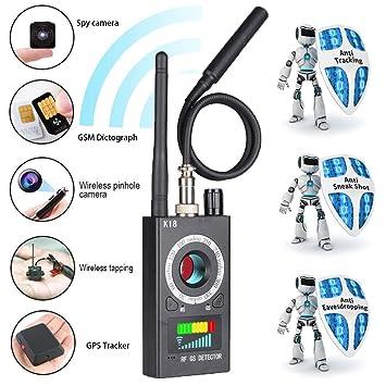 Amazon.com: Innoo Tech Detector de espías y cámara detector ...