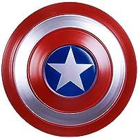 Tables Escudo Capitan America Metal, Adulto Apoyos de PelíCula CapitáN AméRica Shield CapitáN Disfraz de Metal Shield…