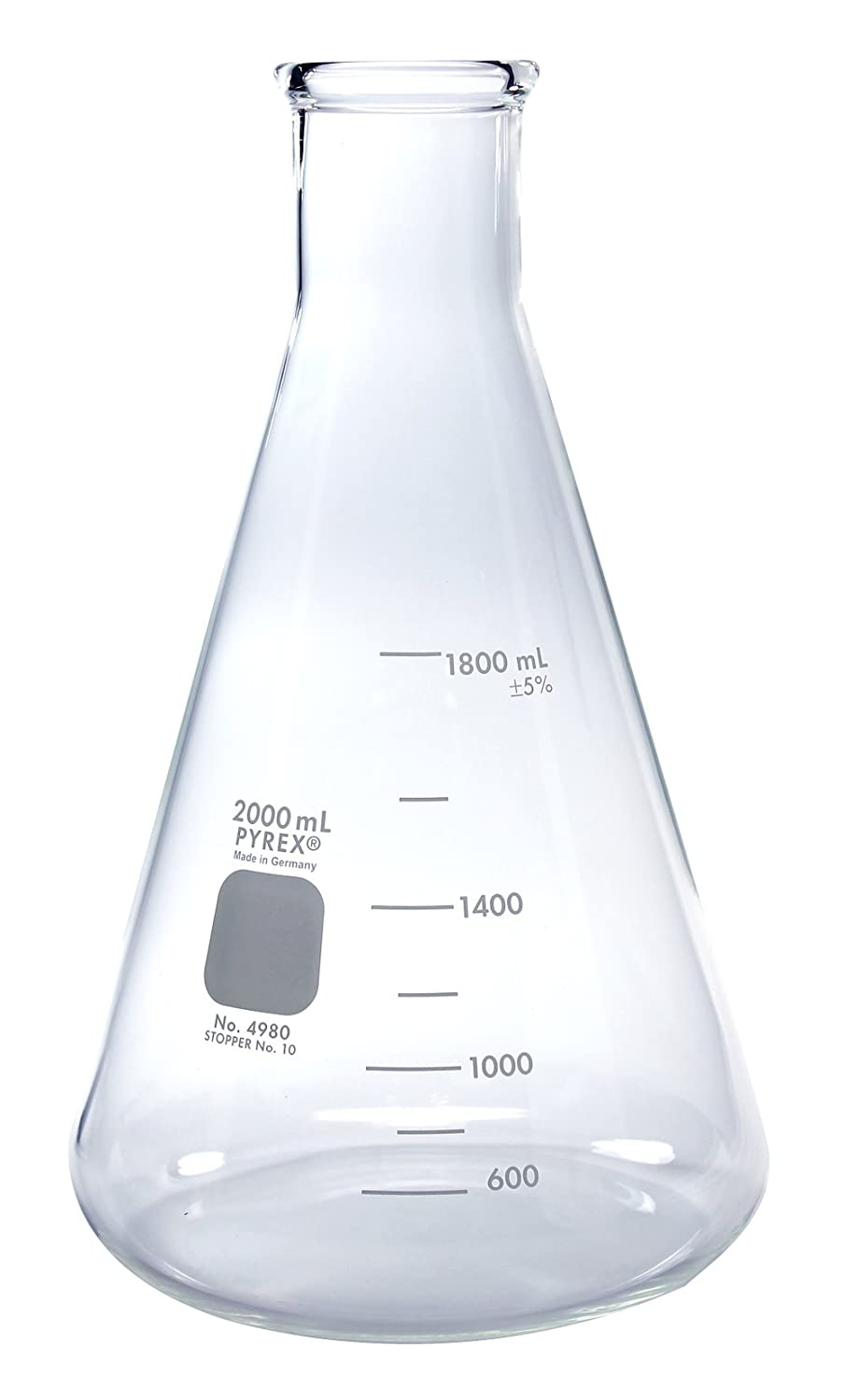 how to draw a conical flask