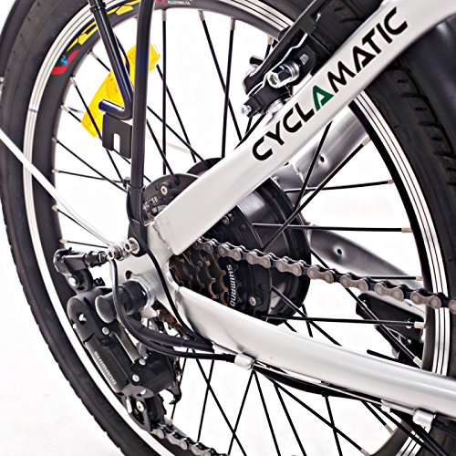 Cyclamatic CX2 Bicycle Electric Foldaway Bike with Lithium-Ion Battery by Cyclamatic (Image #4)