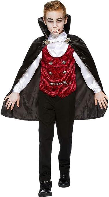 Mens Classic Dracula Vampire Halloween Horror Film Fancy Dress Costume Outfit
