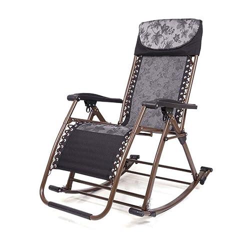 Amazon.com: GJ - Silla reclinable de balcón reclinable para ...