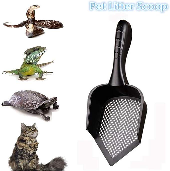 kdjsicIndoor Sand Shovels Portable Durable Plastic Practical Cleaning Cat Pet Litter Scoop Shovel Pets Supplies