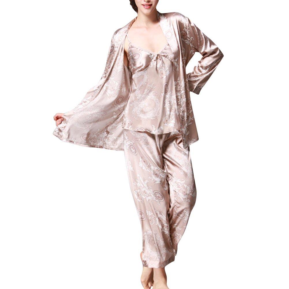 Camicia da notte donna Set Pigiama a tre pezzi da donna confezione da 3 pezzi