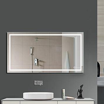 anten bad spiegel für schminktisch und spiegelschrank badspiegel ... - Badezimmer Spiegelschrank Beleuchtet