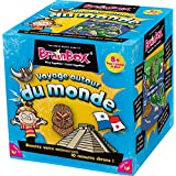 Green Board Games Brainbox Memory Game: The World (French Language Version