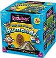 Asmodee 93303 - Brain Box - Voyage Autour du Monde - Jeu Enfants