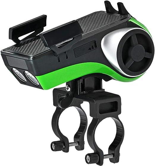 Soporte para teléfono móvil Bicicleta de audio Bluetooth del teléfono móvil del subwoofer soporte del faro sirena de montar a caballo de ciclo de la bicicleta Accesorios del teléfono móvil Soporte Se: