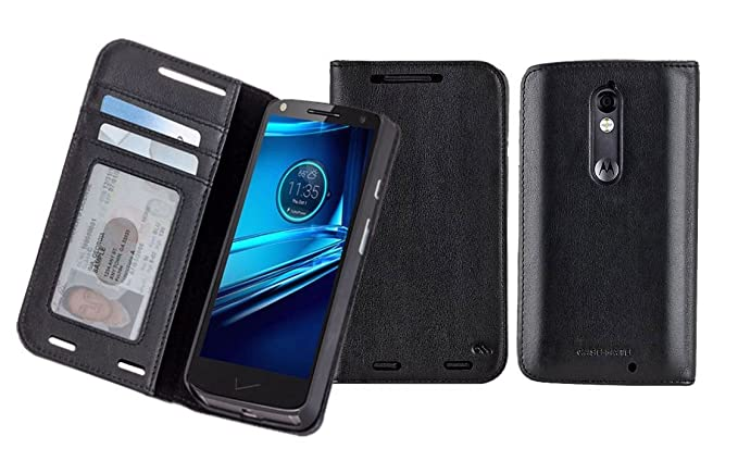 Motorola DROID Turbo 2 CaseMate Wallet Folio - Black