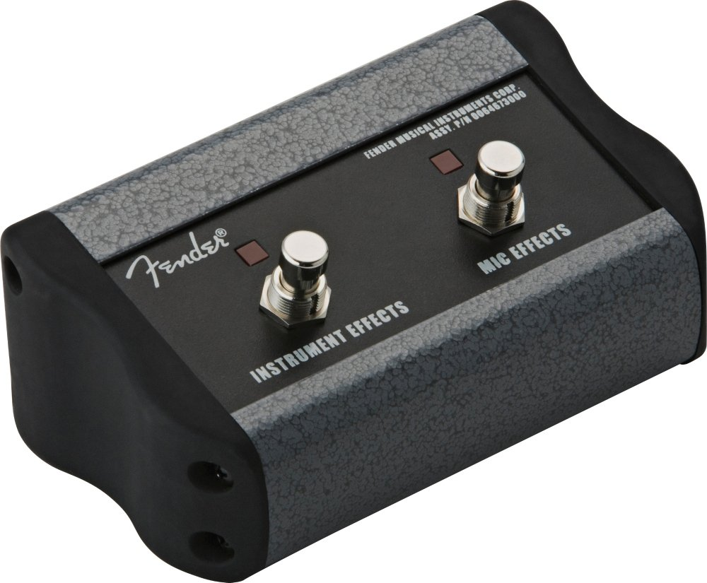 Fender 2-Button Footswitch for Acoustasonic by Fender