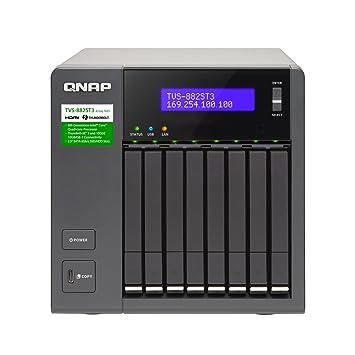 QNAP TVS-882ST3 Ethernet Torre Negro NAS - Unidad Raid (Unidad de ...