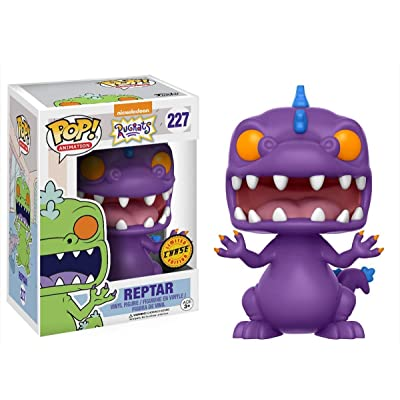 Funko POP! Animation Nickelodeon Rugrats: Reptar Limited Edition CHASE VERIANT Toy Action Figure: Toys & Games