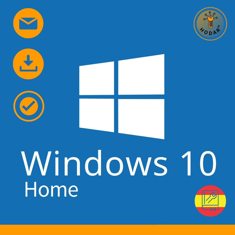 Windows 10 Home 32 / 64 bits Licencia   Clave de Activación Original   Español   100% de garantía de activación   Entrega 1h-24h por correo electrónico: Amazon.es: Software