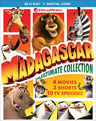 Madagascar: The Ultimate Collection [Blu-ray] (Animated Movie Collection)