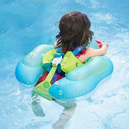 Guangshuohui Inflatable Baby Swimming Ring Baby Float for Swimming Pool 2 to 6 Years Old XL